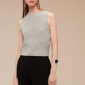 Aritzia Babaton knit vest